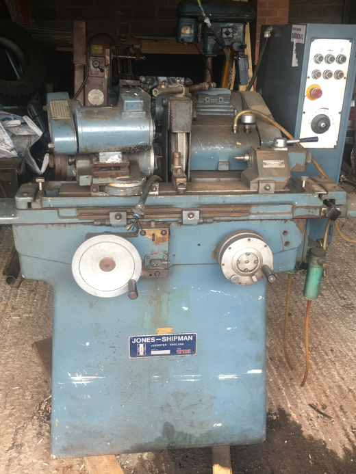 Jones & Shipman 1212E cylindrical grinder.  Small component grinding, 6