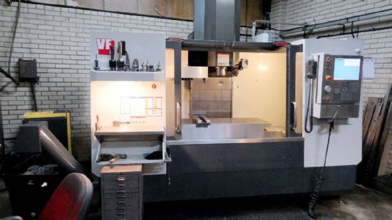 Year: 2011 Make: HAAS Model: VF-4 Traverses XYZ: 1270 x 508 x 635mm Spindle Speed: 8100rpm Spin