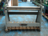 EDWARDS 1,270 x 75mm HAND OPERATED BENDING ROLLS