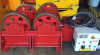 Used Bode 15 Ton Pipe Rotators - Steel Wheels