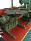 Used Bode 5 Ton Welding Positioner Increased height