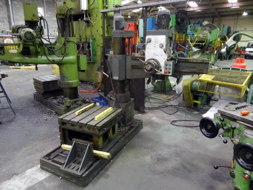 Richmond Radial Arm Drill 48
