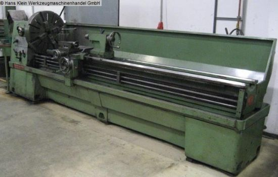turning diameter over bed 535 mm