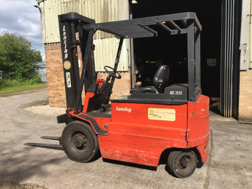 Lansing Electric Fork Lift Truck RK319 Model E35