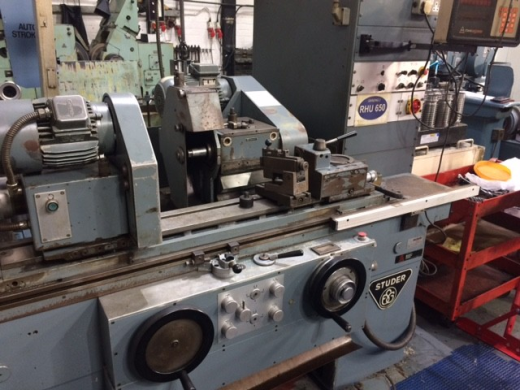 Studer RHU 650 Cyclindrical Grinder, with Anilam DRO.