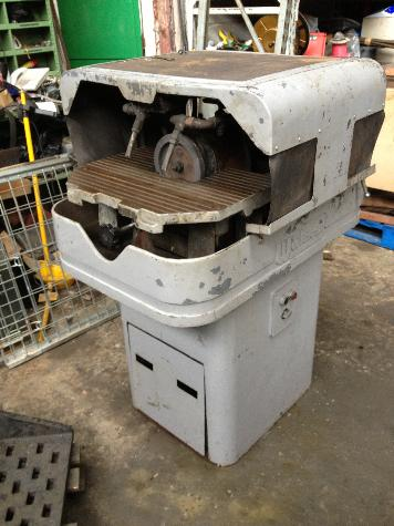 WICKMAN grinder and lapping machine Type 8B