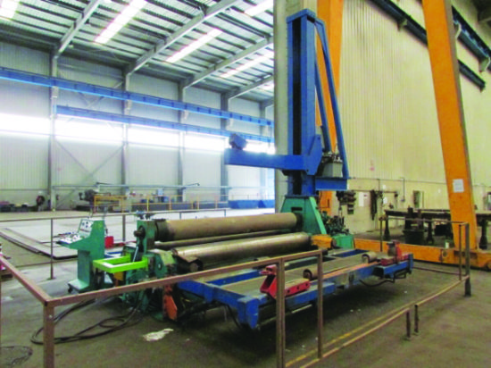 Bending length 3,000mm, 