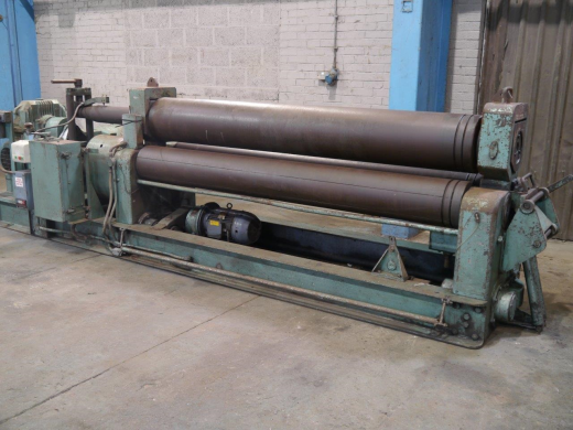 "8ft Bending Length x ½"" Rolling Capacity"