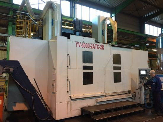 CNC SIEMENS 840 D   Equipped with :  2 x ATC 16 Thru spindle coolant Set of 8 chuck jaws Swar