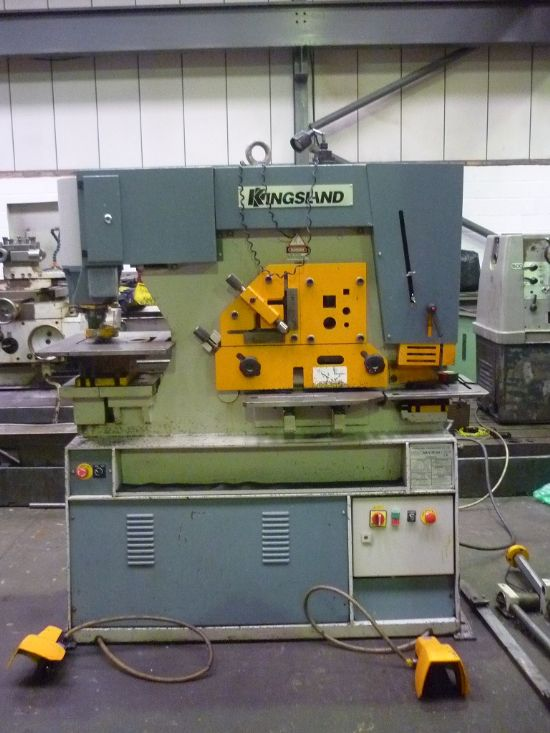 MODEL MULTI 60 60 TON CAPACITY. COMPLETE WITH PUNCHES. SERIAL No. 379904     £5250.00