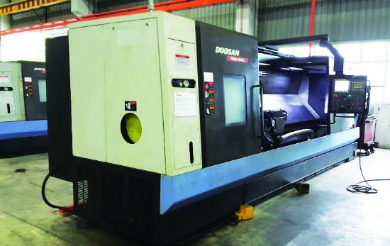 With Fanuc 32i-Model B control.  Year 2014.  Max swing over bed 900mm,  swing over saddle 718mm,