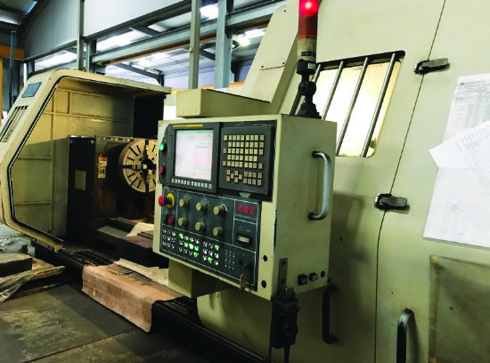 Spindle bore 153mm, 