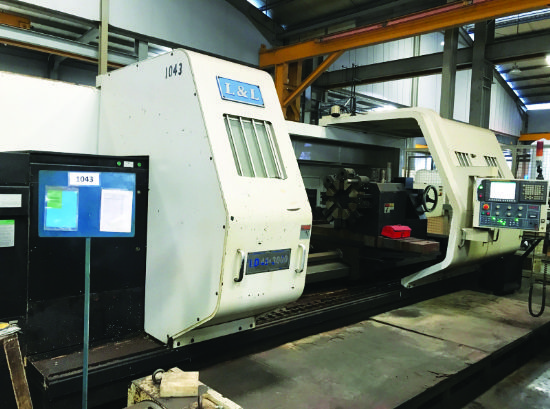 Spindle bore 230mm, 