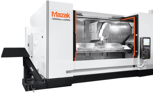 MAZAK 6 AXIS VTC-800/30SDR WITH LARGE TRUNION SWING TABLE 