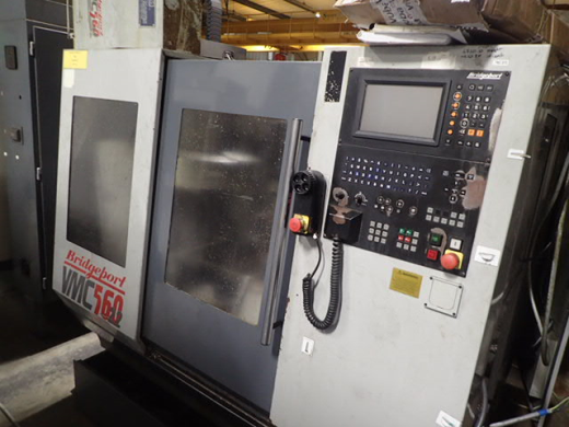 Bridgeport VMC560/22, Dec 1994, s/n35229, Heidenhain TNC370 Control, table 840 x 420mm, trav 580 x 4
