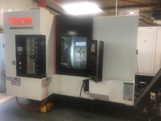 Mazak Integrex j200 CNC Lathe, 2010, s/n 221824, tailstock, B-axis index 5 degre, prep for Renishaw