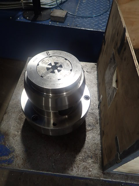 Pratt Burnerd KC25 Key Operated Collet chuck complete with 16 off EE collets to suit, D1-6 cam-lock