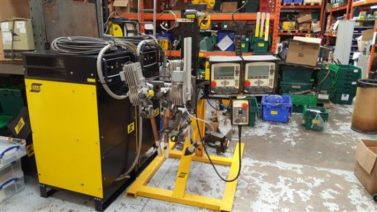 ESAB PEK With ESAB LAF 1251 with TAF 801 Recifiers for Submerged Arc Welding Suitable for heavy con