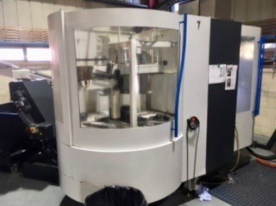 Year: 2007 Make: Mikron Model: Vario 600 Full 5 Axis Spindle Taper: HSK 63 Spindle Speed: 20,000