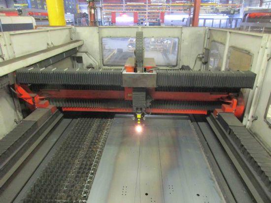 Used Bystronic Bysprint CNC sheet metal laser cutting machine for sale 2.2kw / 2200 watt Capacity: