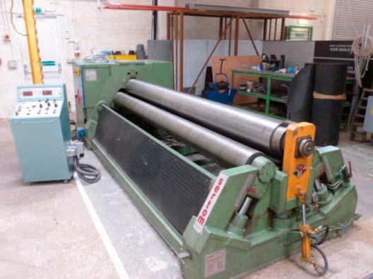 Sertom 3002 4r Hydraulic Bending Rolls