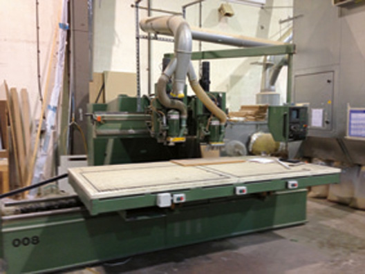 Wadkin Cnc Router With Bosch Control