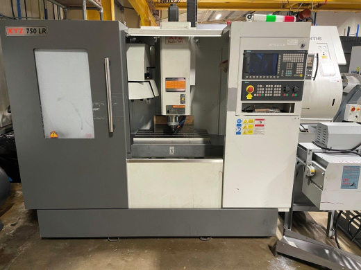 XYZ 750LR, 2017, s/n SMA10103, Siemens 828D control, Travels X750, Y440, Z550mm, Rapid feed 20m/min,