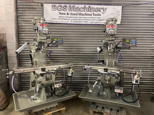 Bridgeport Milling Machine 2HP Variable Speed Rebuilt