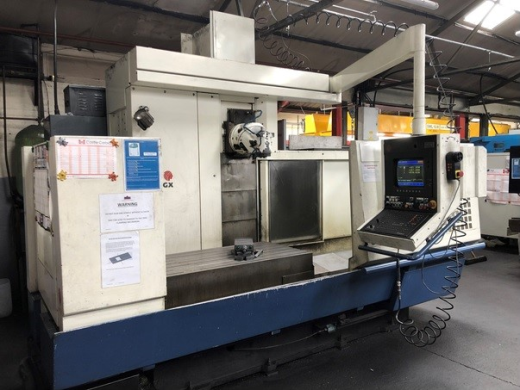 Huron GXB 512 Universal CNC Milling Machine, 1994, Heidenhain TNC415 Control, Travels X-1500mm, Y-60