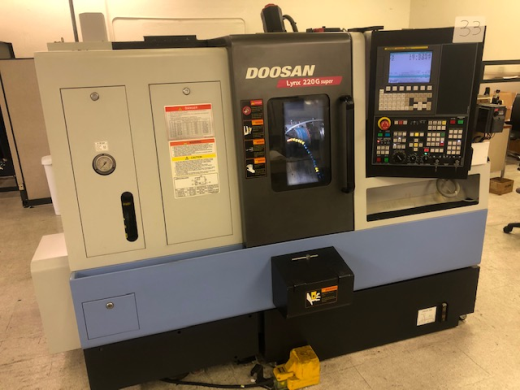 Doosan Lynx 220G Super CNC Turning Center