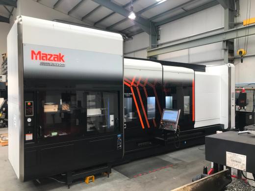 Multi Tasking Machine     Mazatrol SmoothX  5-Axis Machining Package Travels X/Y/Z 845/430/3126
