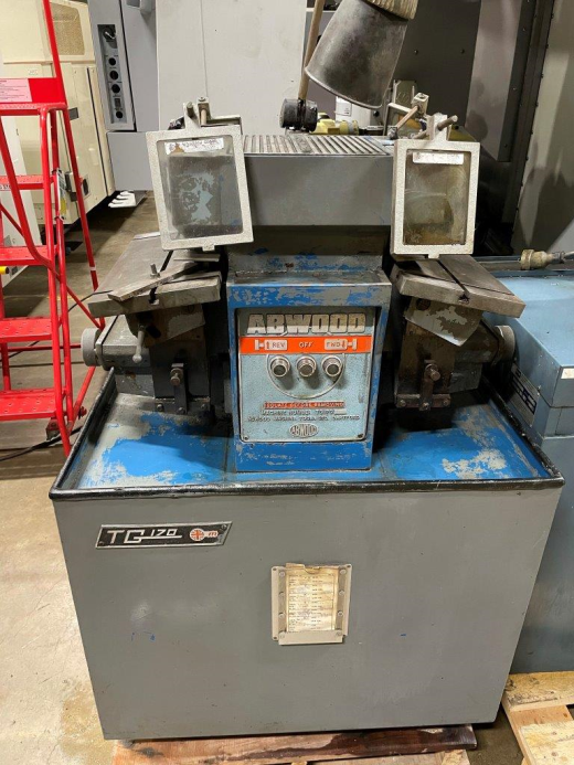 Abwood TG170 Carbide Tool Grinding & Lapping Machine, 1979,  400 x 200mm tilting tables, 2 x diamond