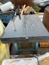 Granite Surface table on stand (3230)