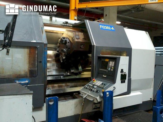 This NILES N30Y x 2000 lathe machine was manufactured in the year 2006 in Germany. This 3 axis machi