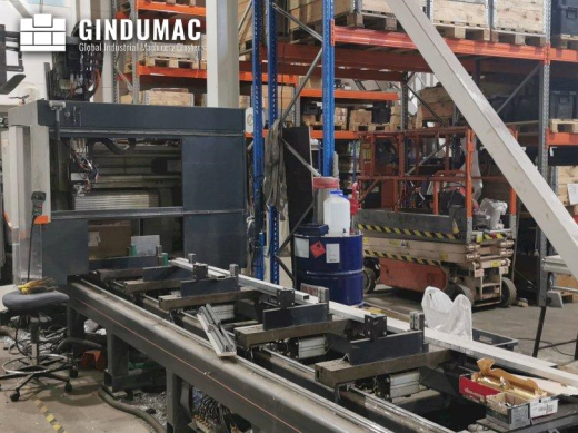 This Elumatec SBZ 140 vertical machining center was built in Germany in the year 2004. This machine