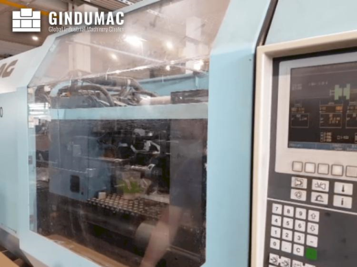 This DEMAG Ergotech viva 2000-840 Injection Moulding Machine from 1998 was manufactured in Germany.