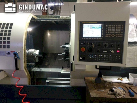 This Johnford SL-40 Lathe was manufactured in Taiwan in the year 2017. It has been operative for 162