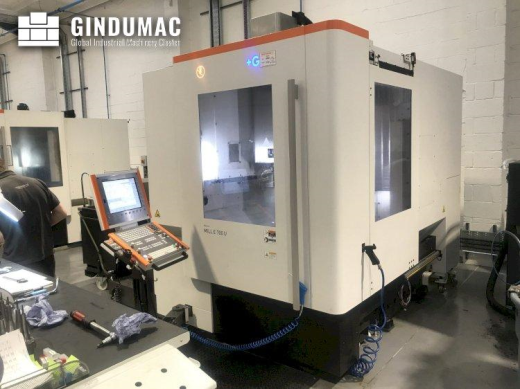 This MIKRON Mill E 700 U Vertical Machining Center was built in 2019. This 5 axis machine operates t
