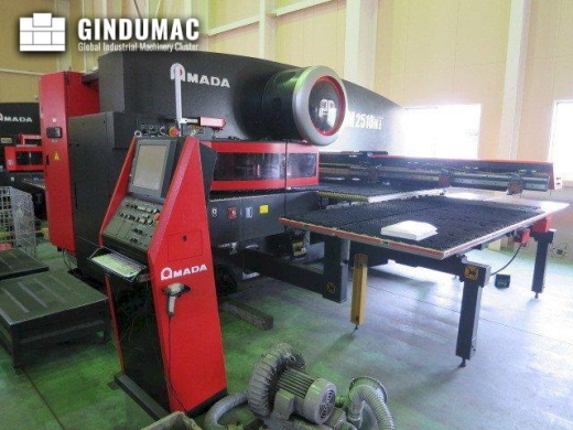 This AMADA EM 2510NT Turret Punching Machine was manufactured in Japan in the year 2007. It is equip