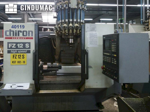 This CHIRON FZ 12 S Vertical Machining Center was built in Germany in 1995. It is equipped with a SI