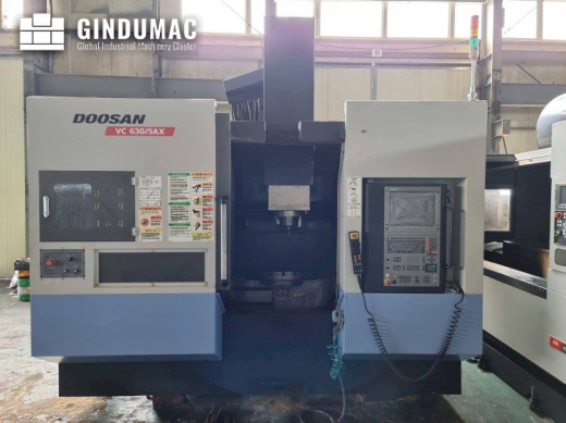 This Doosan VC630/5AX vertical machining center was manufactured in Korea in 2011. This 5 axis machi