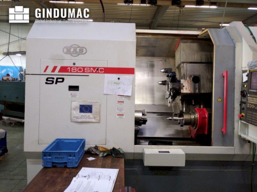 This KOVOSVIT SP 180 SMC Lathe was built in the year 2011. It has been working for 14164 hours, of w