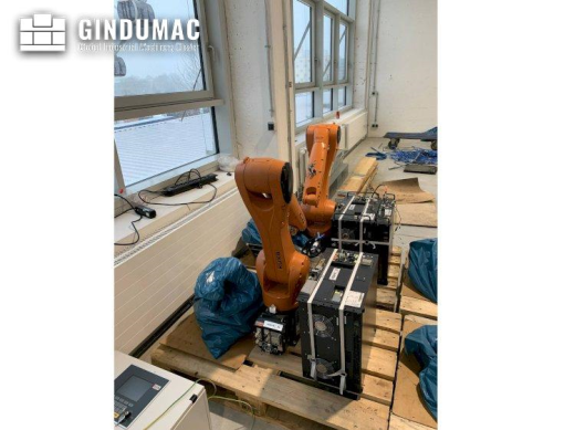 This KUKA KR10 R1100 with KR C4 COMPACT Controller robot was built in Germany in 2018. This machine