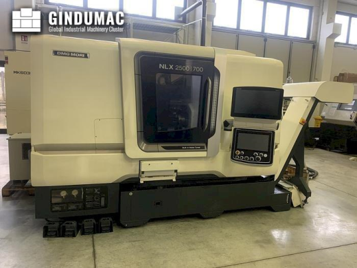 This DMG MORI NLX 2500SY Lathe was manufactured in 2017. This machine can work with a spindle speed