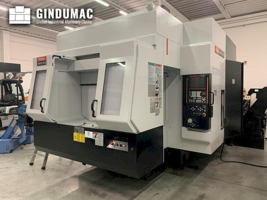 This Mazak VARIAXIS 730-5X Vertical Machining Center was manufactured in 2007. This simultaneous 5 a