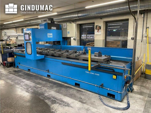 This CMA TRD28CNC 4500 Drilling Machine was made in Spain in the year 2014. It has a record of 7000