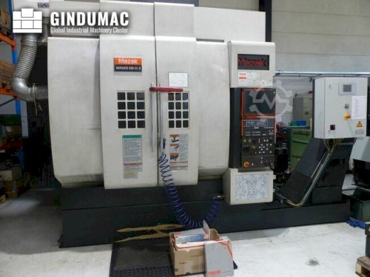 This Mazak Variaxis 630-5x II Universal Machining Center was manufactured in 2007 in Japan. This 5 a