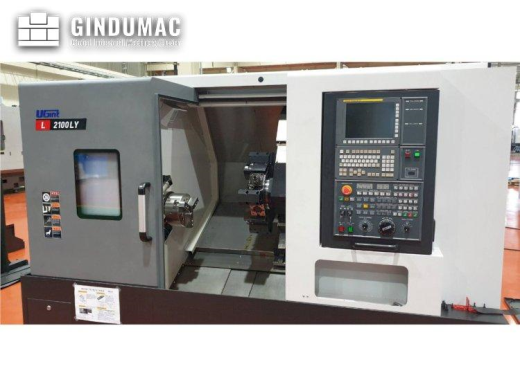 This UGINT L2100LY  Turning Milling Center was made in Korea in 2020. This machine has a record of o
