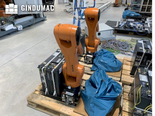 This KUKA KR10 R1100 with KR C4 COMPACT Controller robot was built in 2016 in Germany. This machine