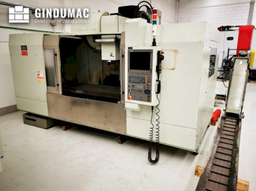 This FIRST MCV 1500 Vertical Machining Center was built in the year 2005. It is equipped with a HEID